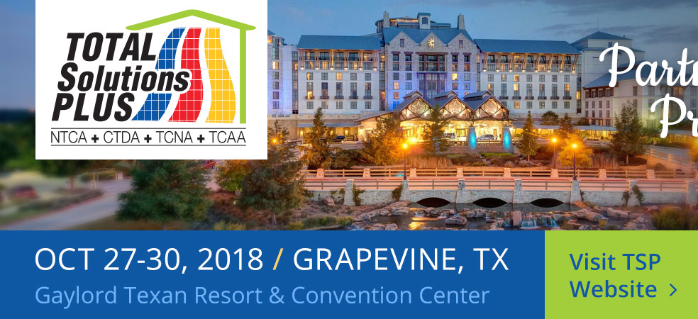 Total Solutions Plus 2018 - Partners in Progress - October 27-30, 2018 - Grapevine, TX