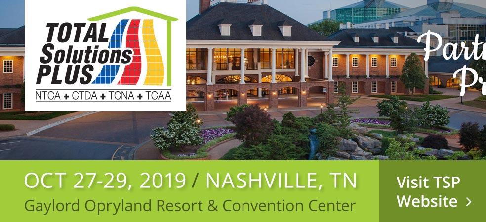 Total Solutions Plus 2019 - Partners in Progress - October 27-29, 2019 - Nashville, TN